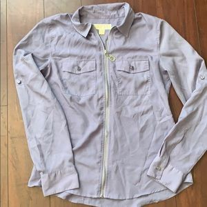Michael Kors long sleeve blouse size 4